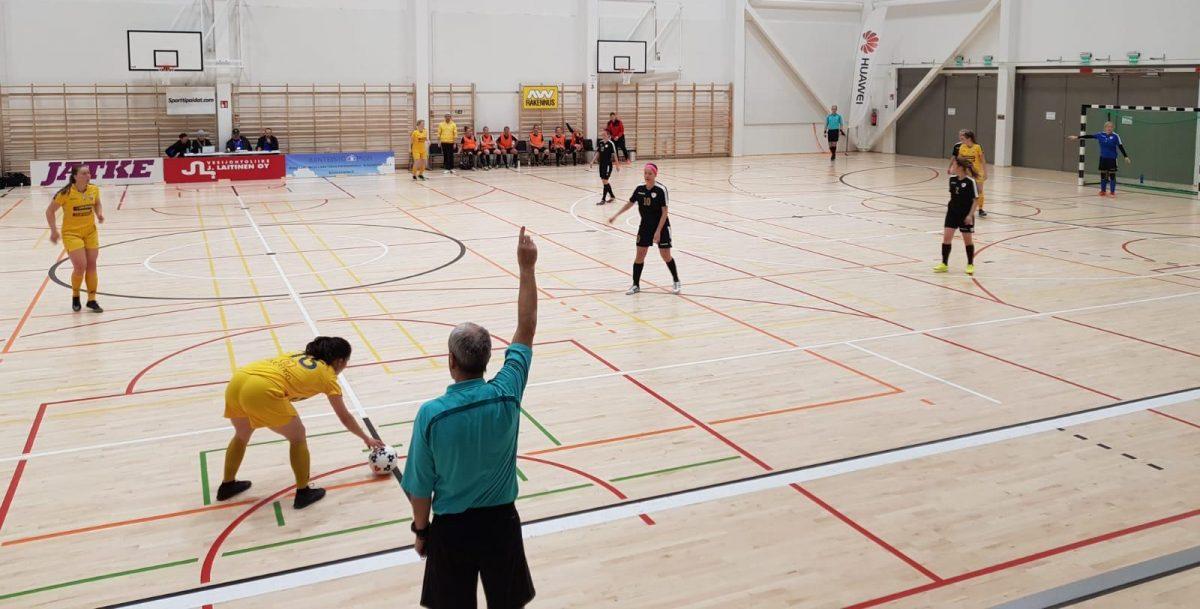 12.8.2018 Tuplapeliviikonlopun ensimmäinen ottelu päättyi pettymykseen, GFT-FTK 3-0 (0-0)
