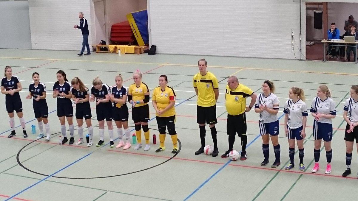 18.11.2018 Futsal Cup alkoi 1-11 (0-10) voitolla