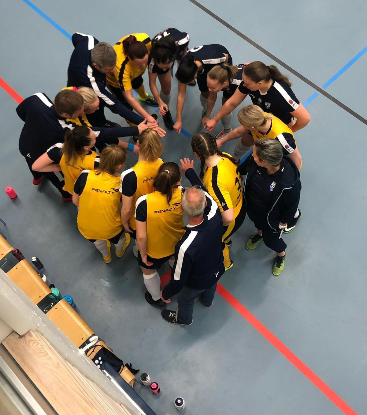 22.12.2018 FTK:n taival Futsal Cupissa jatkuu